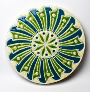 Mandala VI – ceramika artystyczna