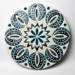 Mandala IV – ceramika artystyczna
