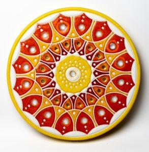 Mandala III – ceramika artystyczna