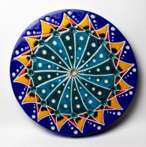 Mandala II – ceramika artystyczna