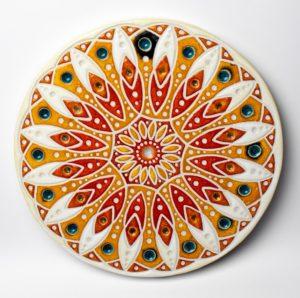 Mandala I – ceramika artystyczna